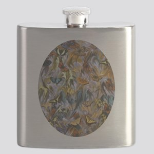 BUTTERFLY ILLUSION OVAL Flask