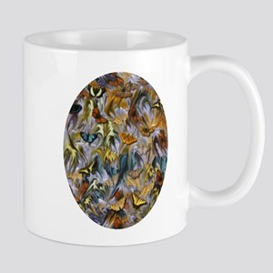 BUTTERFLY ILLUSION OVAL Mugs