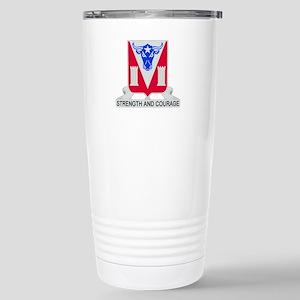 82d Engineer Battalion. Stainless Steel Travel Mug