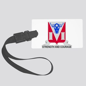 82d Engineer Battalion Large Luggage Tag
