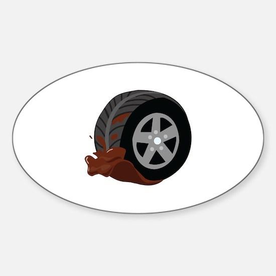 Dirty Wheel Decal