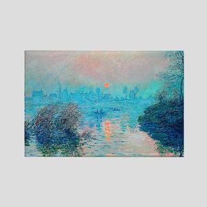 Monet: Impression Sunset Magnets