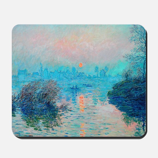 Monet: Impression Sunset Mousepad