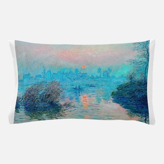 Monet: Impression Sunset Pillow Case