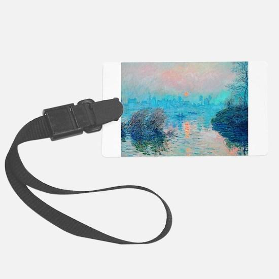 Monet: Impression Sunset Luggage Tag