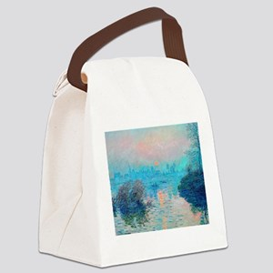 Monet: Impression Sunset Canvas Lunch Bag