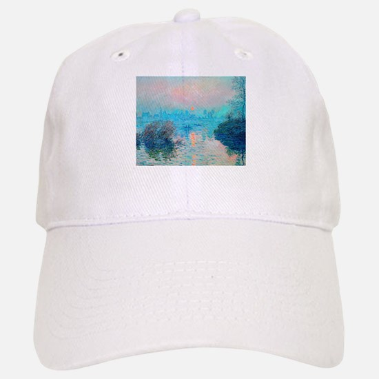 Monet: Impression Sunset Baseball Baseball Baseball Cap