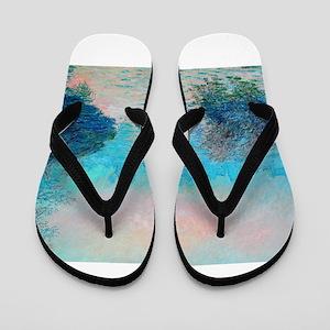 Monet: Impression Sunset Flip Flops