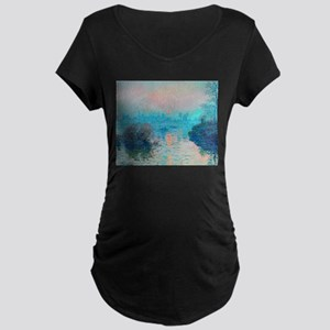 Monet: Impression Sunset Maternity T-Shirt