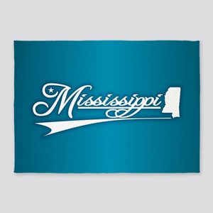 Mississippi State of Mine 5'x7'Area Rug