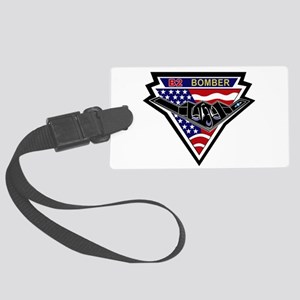 b2_bomber_spirit Large Luggage Tag