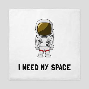 Need My Space Queen Duvet