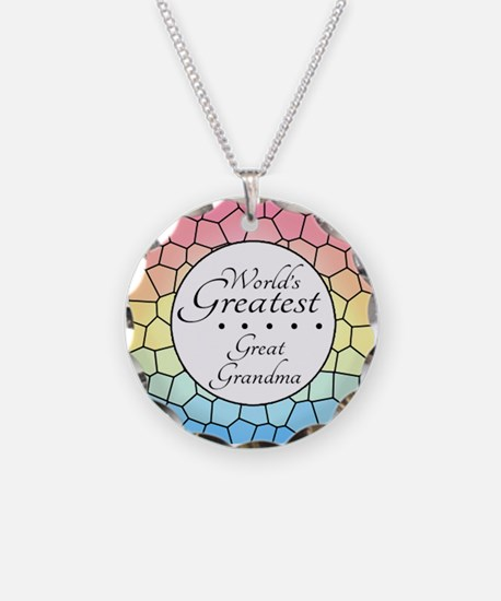 Great Grandma (Stained Glass Necklace