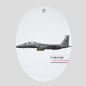 f-15_libya_down Ornament (Oval)