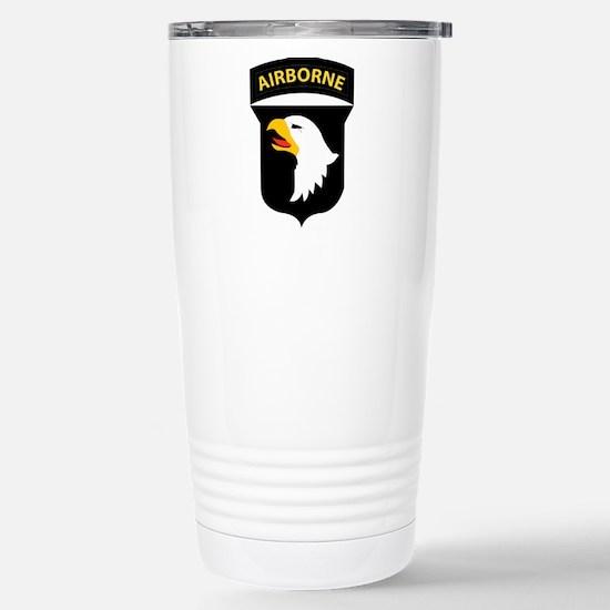 101st Airborne Division Stainless Steel Travel Mug
