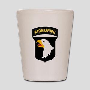 101st Airborne Division Shot Glass