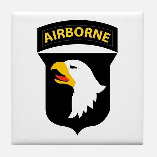 101st Airborne Division Tile Coaster