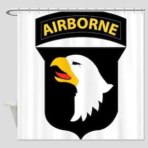 101st Airborne Division Shower Curtain