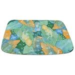 Early Frost Watercolor Bathmat