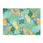 Early Frost Watercolor 5'x7'Area Rug