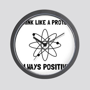 Proton Always Positive Wall Clock