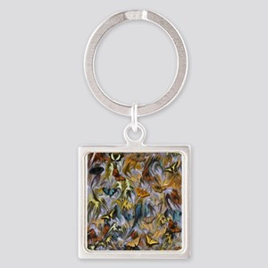 BUTTERFLY ILLUSION PANEL Keychains