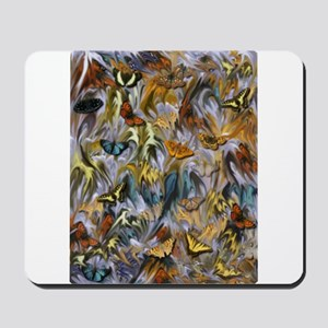 BUTTERFLY ILLUSION PANEL Mousepad