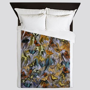 BUTTERFLY ILLUSION PANEL Queen Duvet