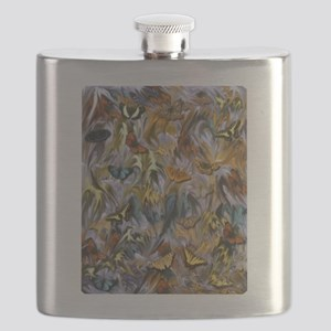 BUTTERFLY ILLUSION PANEL Flask