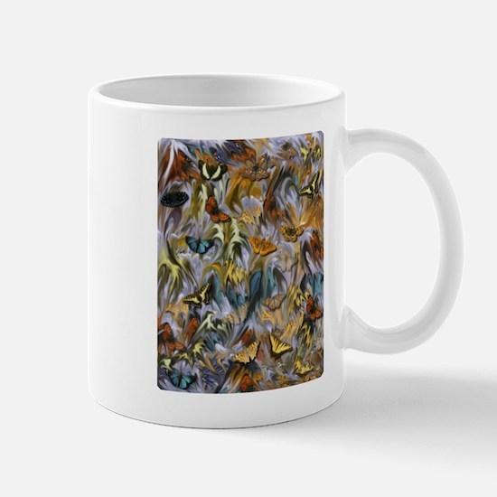 BUTTERFLY ILLUSION PANEL Mugs