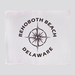Delaware - Rehoboth Beach Throw Blanket