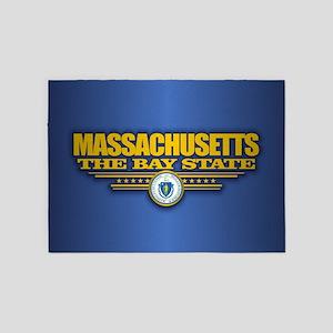 Massachusetts (v15) 5'x7'Area Rug