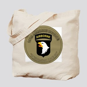 101st airborne screaming eagles Tote Bag