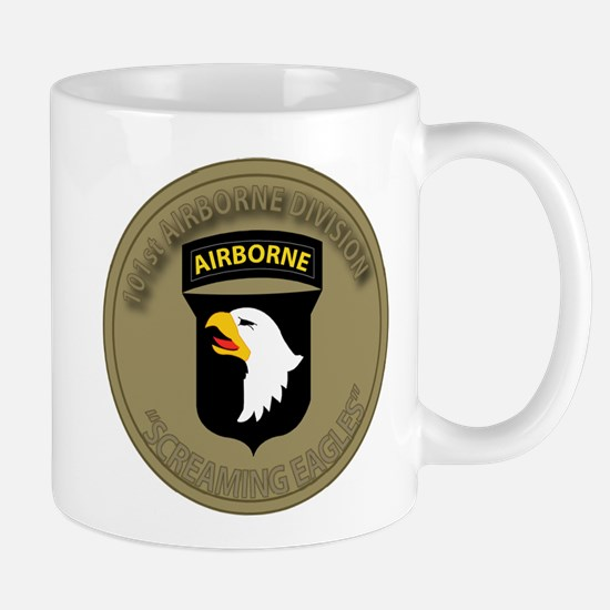 101st airborne screaming eagles Mug