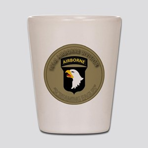 101st airborne screaming eagles Shot Glass