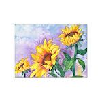Sunny Sunflowers 5'x7'Area Rug