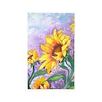 Sunny Sunflowers 3'x5' Area Rug