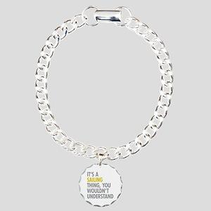 Its A Sailing Thing Charm Bracelet, One Charm