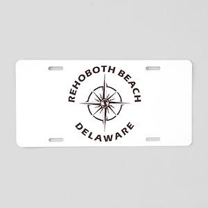 Delaware - Rehoboth Beach Aluminum License Plate