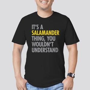 Its A Salamander Thing Men's Fitted T-Shirt (dark)