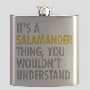 Its A Salamander Thing Flask