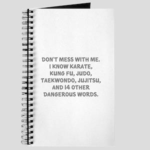 Dangerous Words Journal