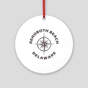 Delaware - Rehoboth Beach Round Ornament