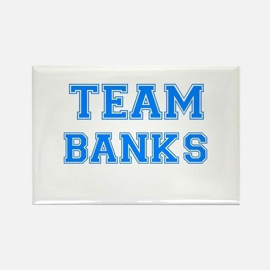 TEAM BANKS Rectangle Magnet