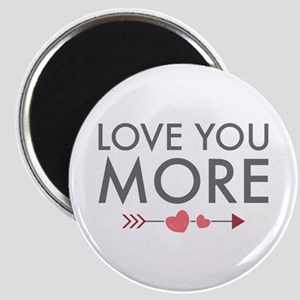 Love You More Magnets