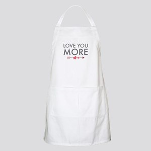 Love You More Apron