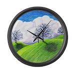 California Spring Large Wall Clock