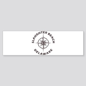 Delaware - Slaughter Beach Bumper Sticker