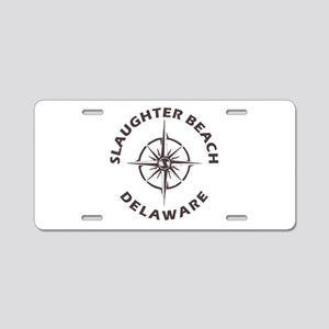 Delaware - Slaughter Beach Aluminum License Plate