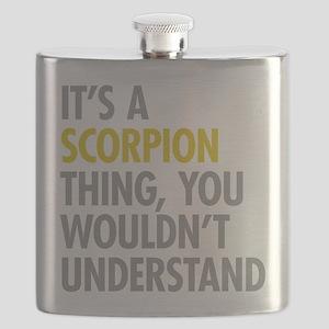 Its A Scorpion Thing Flask